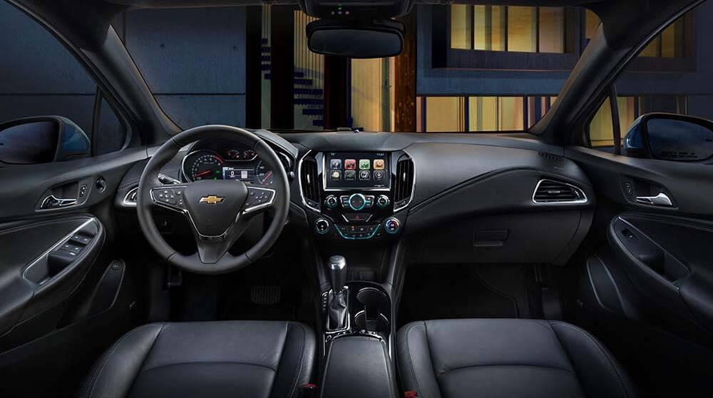2017 Chevy Cruze Sedan Premier Interior Gallery3