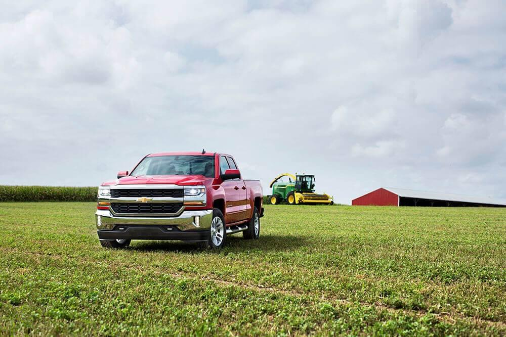 2017 Chevy Silverado 1500 LD Red Hot