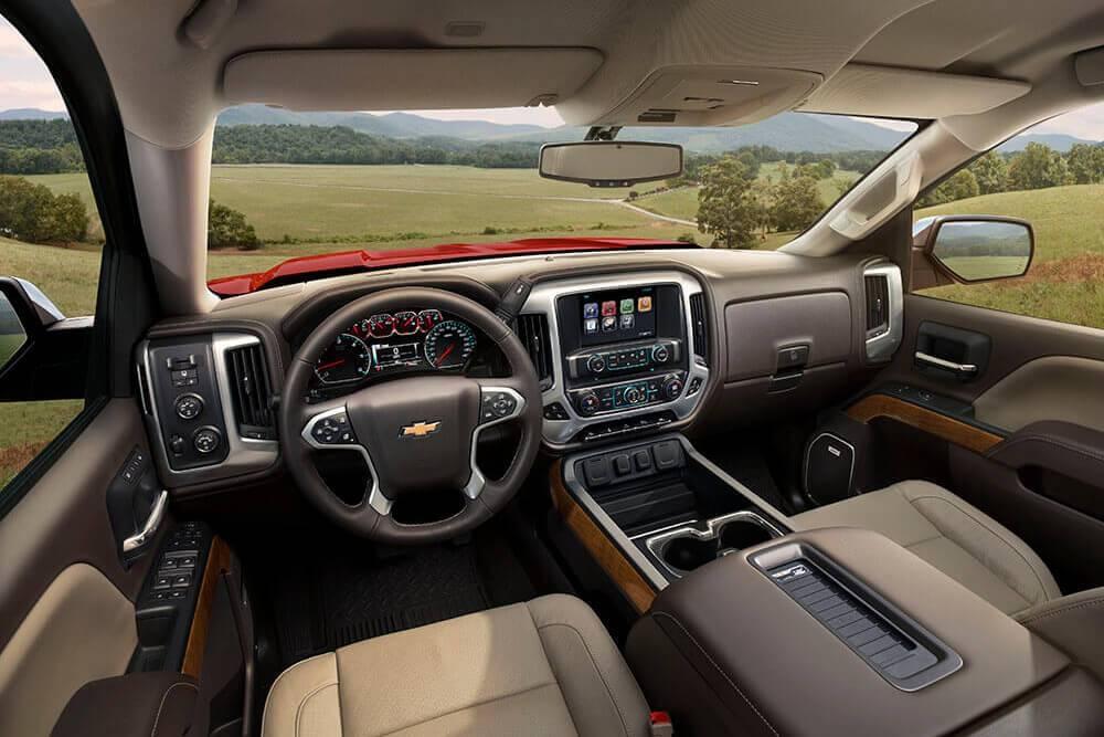 2017 Chevy Silverado 1500 LTZ Interior