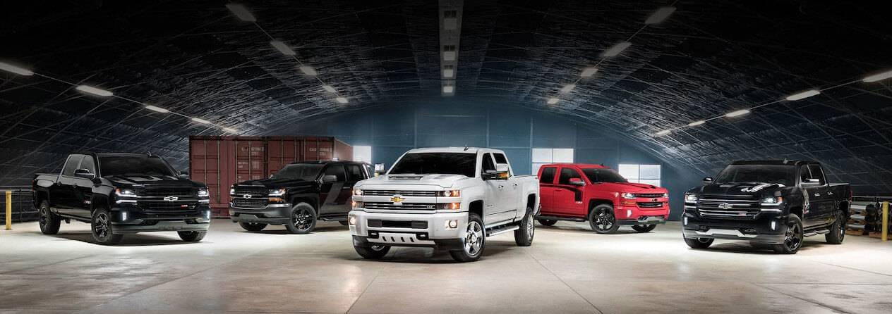 Silverado Special Edition >> Check Out The Newest Chevy Silverado Special Editions