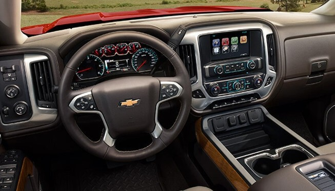 2017 Chevrolet Silverado Dashboard