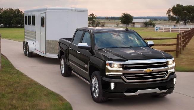 Chevrolet Silverado 1500 tow trailer