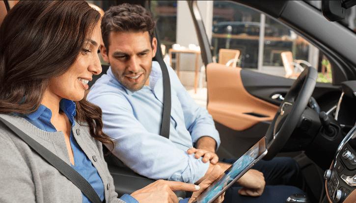 2018 Chevrolet Equinox Interior driver