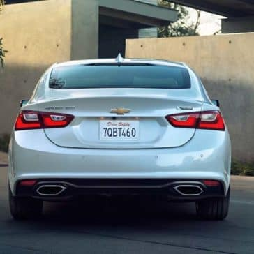 2018 Chevrolet Malibu back view