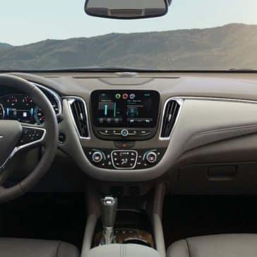 2018 Chevrolet Malibu dashboard