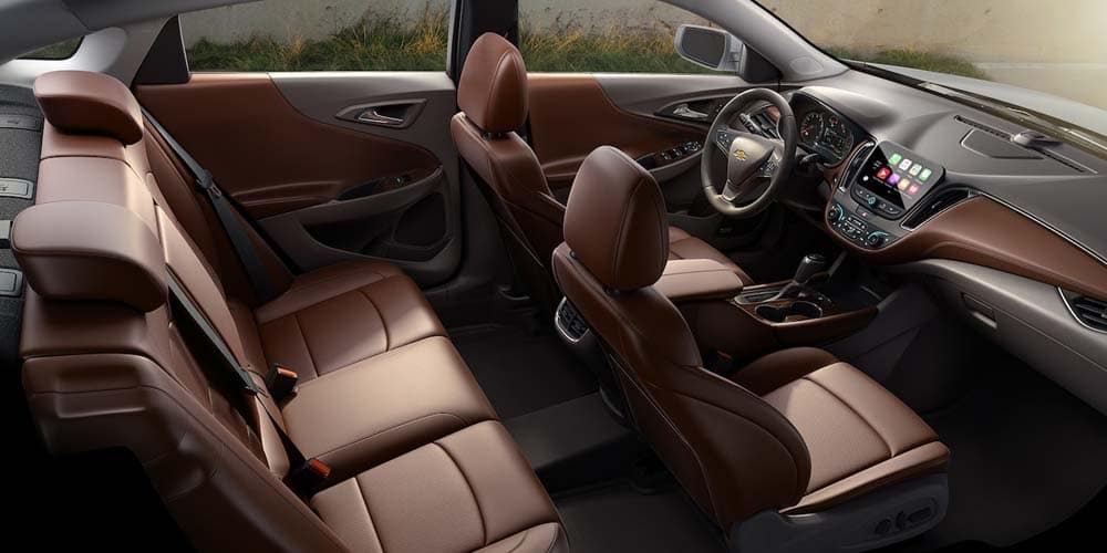 2018 Chevrolet Malibu interior seating