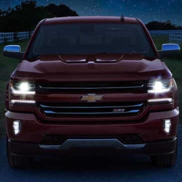 2018 Chevy Silverado 1500 Exterior headlamps