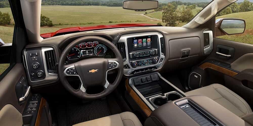 2018 Chevy Silverado 1500 dashboard