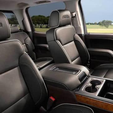 2018 Chevy Silverado 1500 leather seats