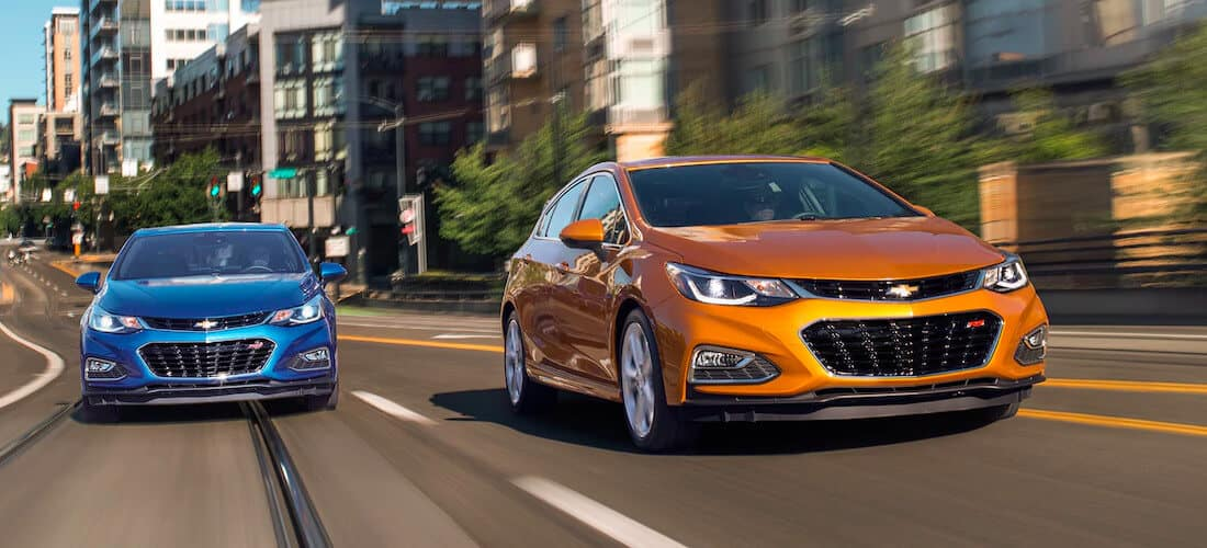 2018 Chevrolet Cruze hatch and sedan
