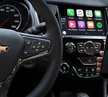 2018 Chevrolet Cruze Apple Carplay