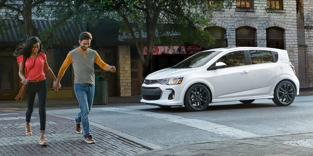 White 2018 Chevrolet Sonic Hatchback