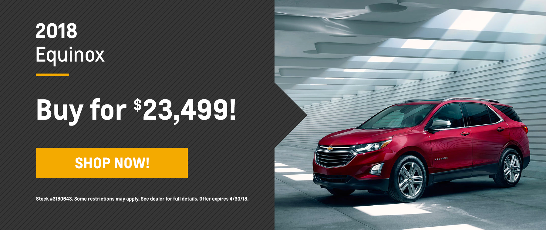 Equinox Biggers Chevrolet April Offer Homepage