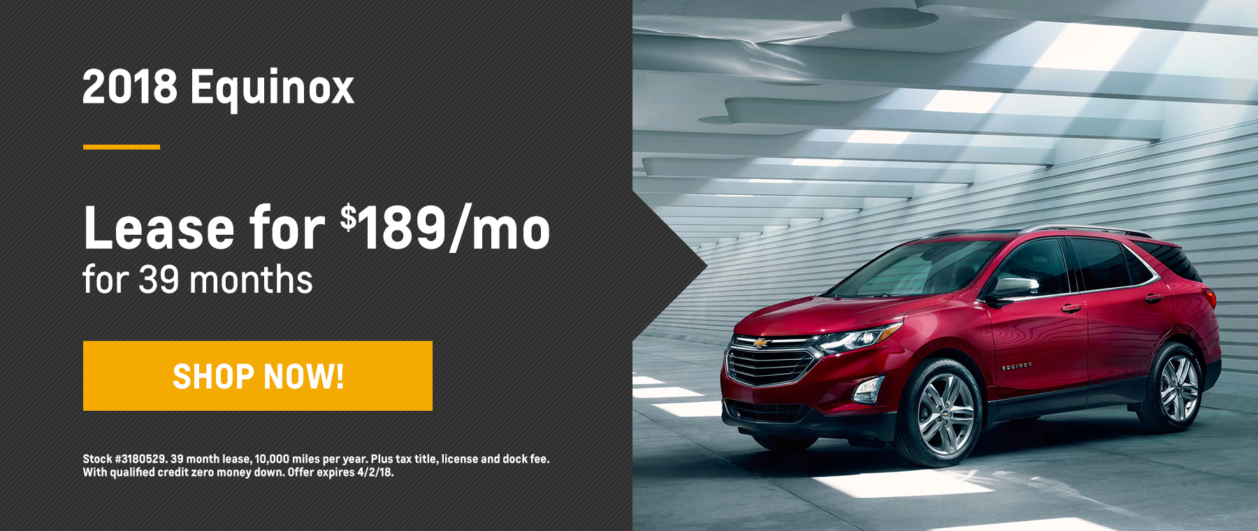 Equinox Biggers Chevy March Offer Homepage