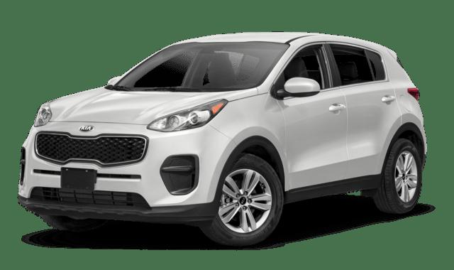 2018 Kia Sportage LX compare