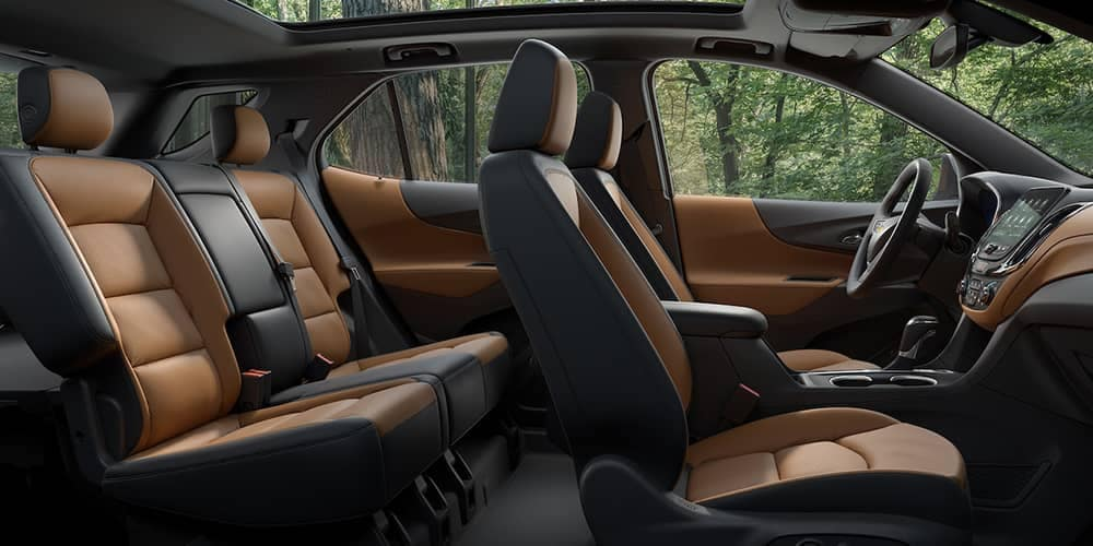seating in 2019 Chevrolet Equinox