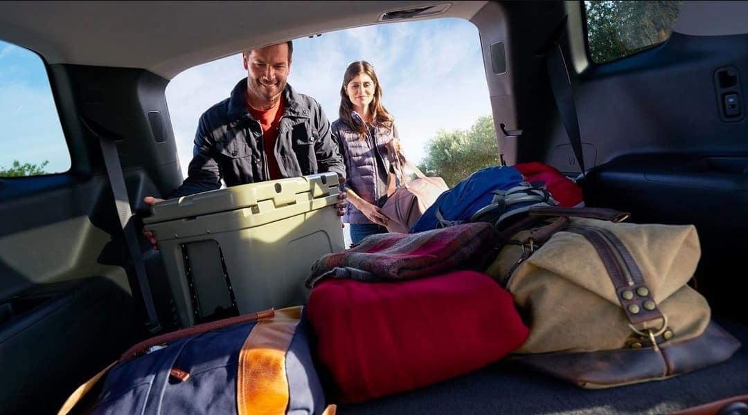cargo space in 2019 Chevrolet Traverse