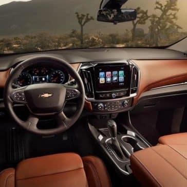 2019 Chevrolet Traverse dashboard