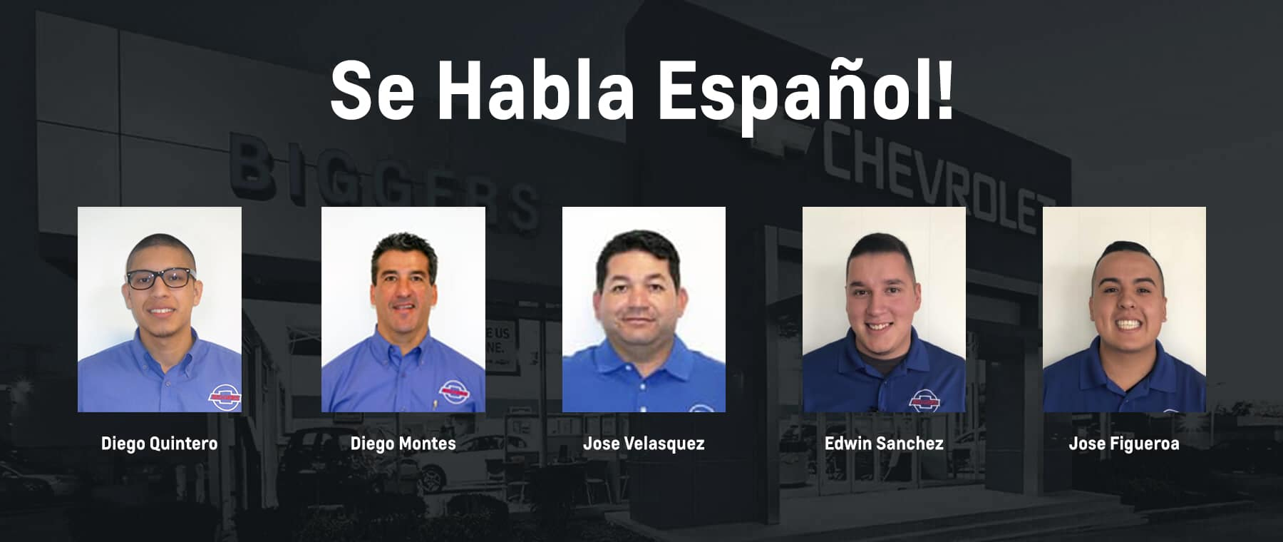 Spanish Speaking Staff at Biggers Chevrolet in Elgin, IL