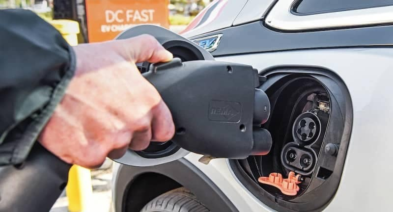DC Fast Charging for Chevy Bolt in public