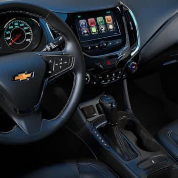 2019 Chevrolet Cruze Interior Dashboard Black