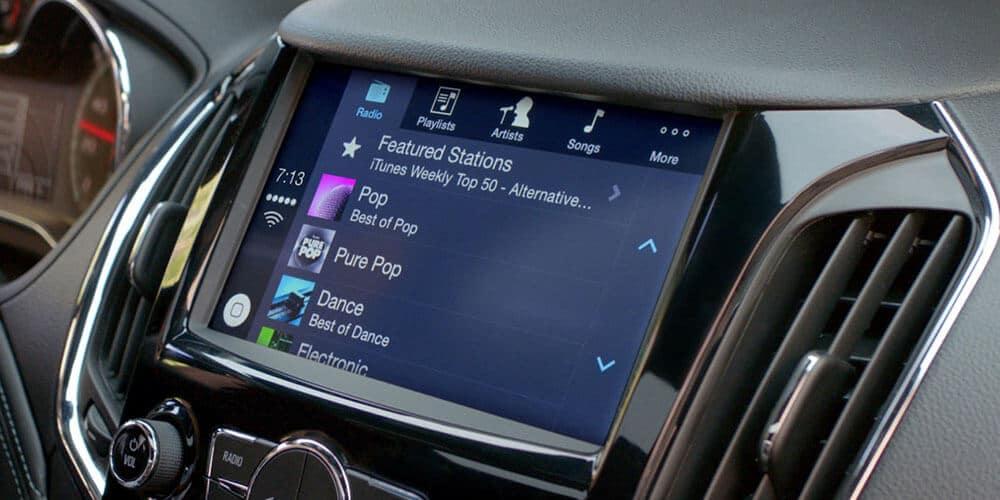 2019 Chevrolet Cruze Interior Dashboard Radio