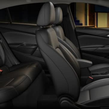 2019 Chevrolet Cruze Interiro Front and Back Seats
