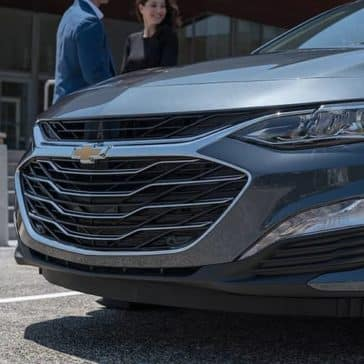 front end close up of 2019 Chevrolet Malibu