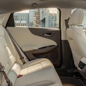 interior cabin of 2019 Chevrolet Malibu