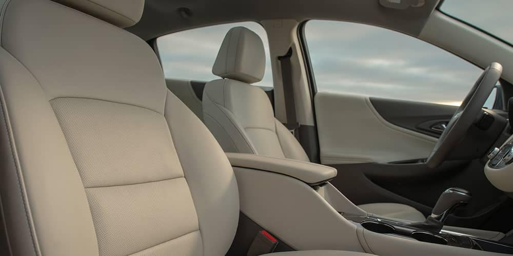 interior seating in 2019 Chevrolet Malibu