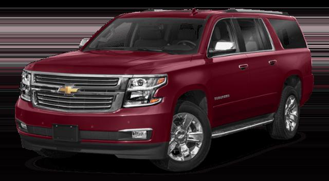 2019 Chevrolet Suburban Red
