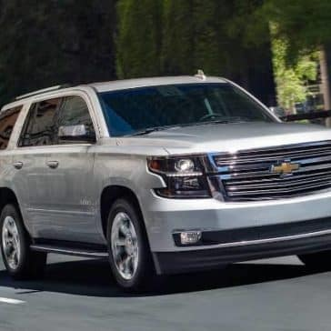 2019 Chevrolet Tahoe on road