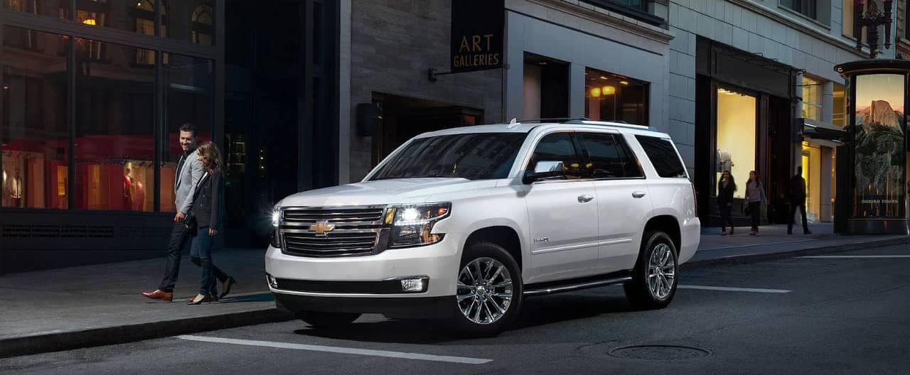 2019 Chevrolet Tahoe parked