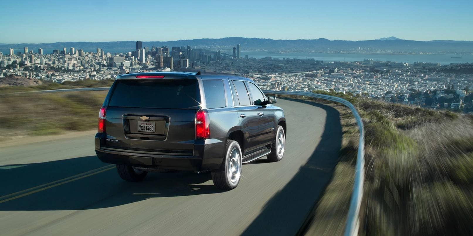 rear of 2019 Chevrolet Tahoe