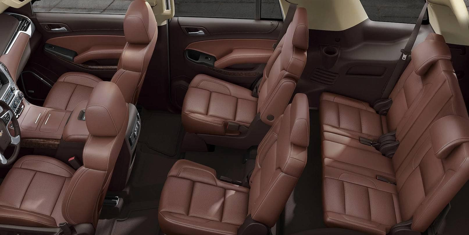 interior seating in 2019 Chevrolet Tahoe