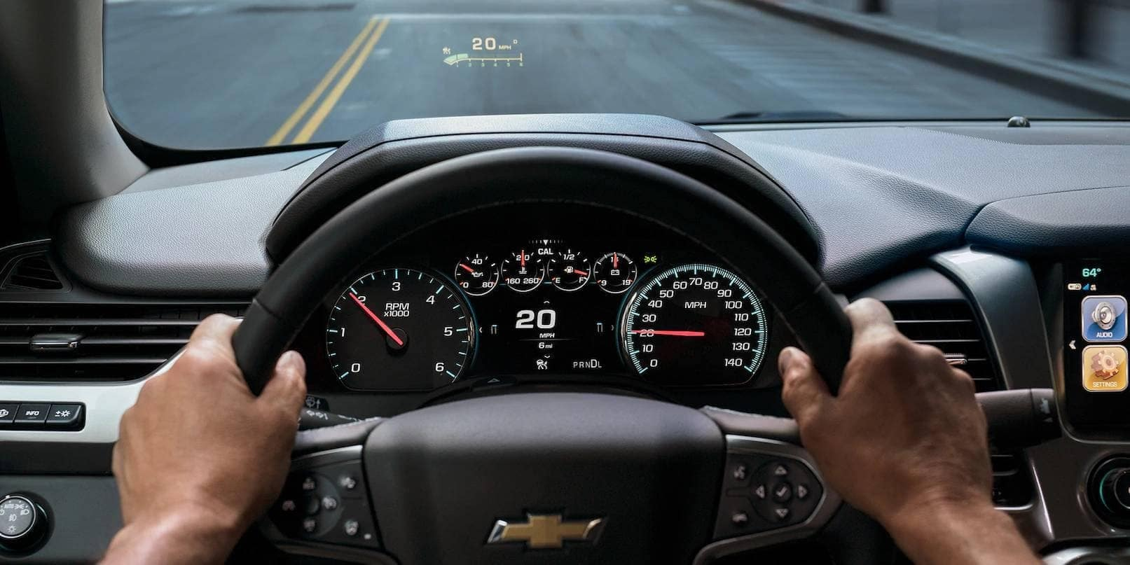 heads up display in 2019 Chevrolet Tahoe