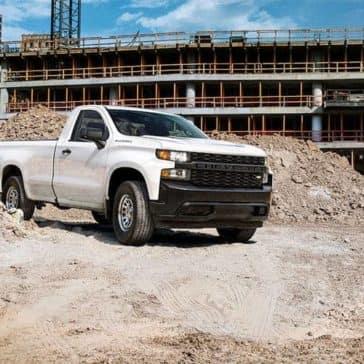 2019 Chevrolet Silverado 1500 Work Truck on construction site