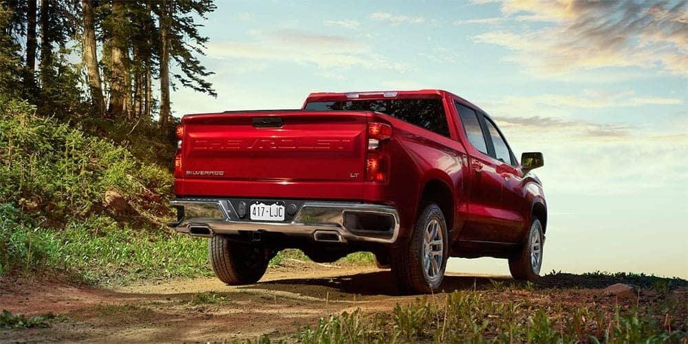 2019 Chevrolet Silverado 1500 rear