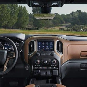 dashboard in 2019 Chevrolet Silverado 1500