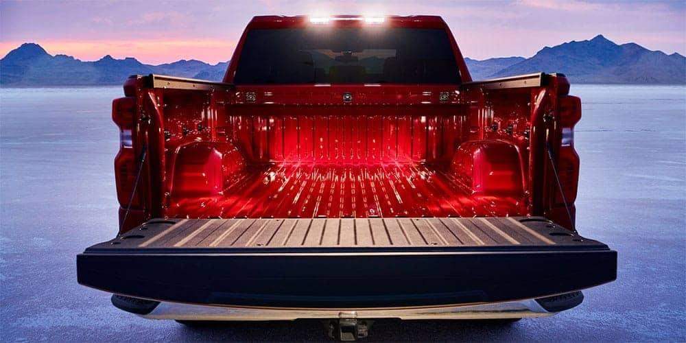 lighted truck bed of 2019 Chevrolet Silverado 1500