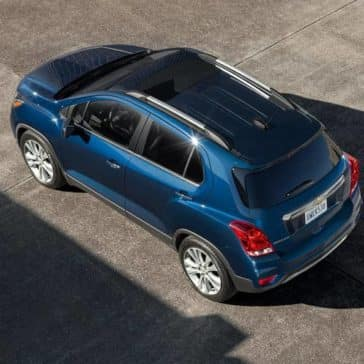 2019 Chevrolet Trax birds eye view