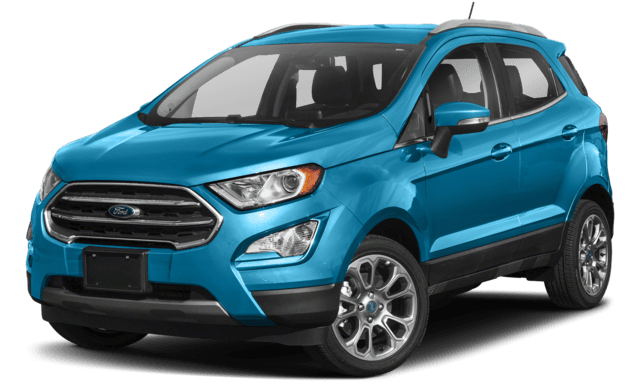 2018 Ford Ecosport in Blue