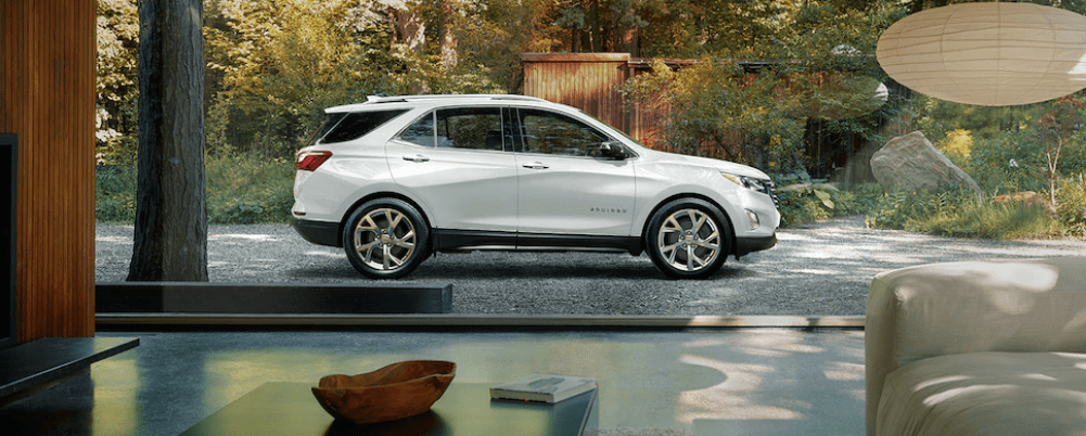 2019 Chevy Equinox in the Driveway
