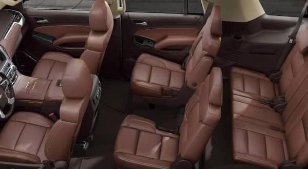 Explore The 2019 Chevy Tahoe Interior Biggers Chevrolet