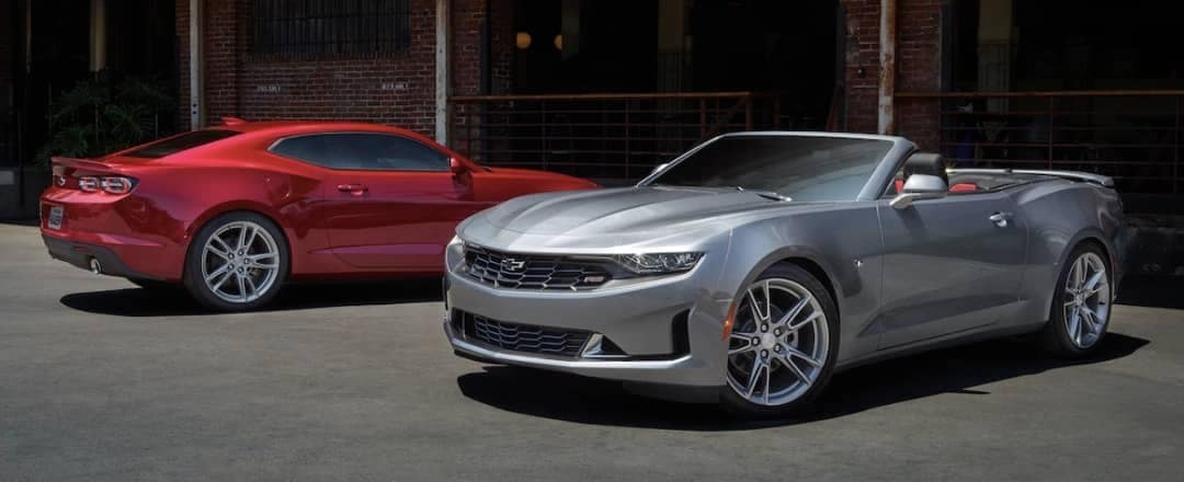 2019 Chevy Camaro Sedan and Convertible