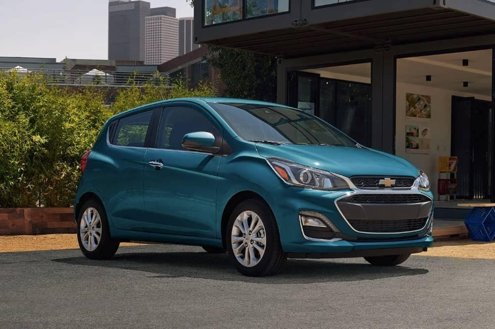 2019 Chevy Spark Hatchback parked