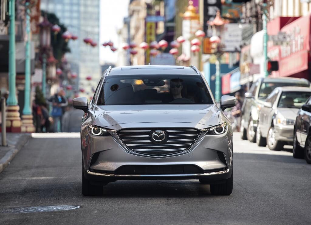2016 Mazda CX-9 with driver