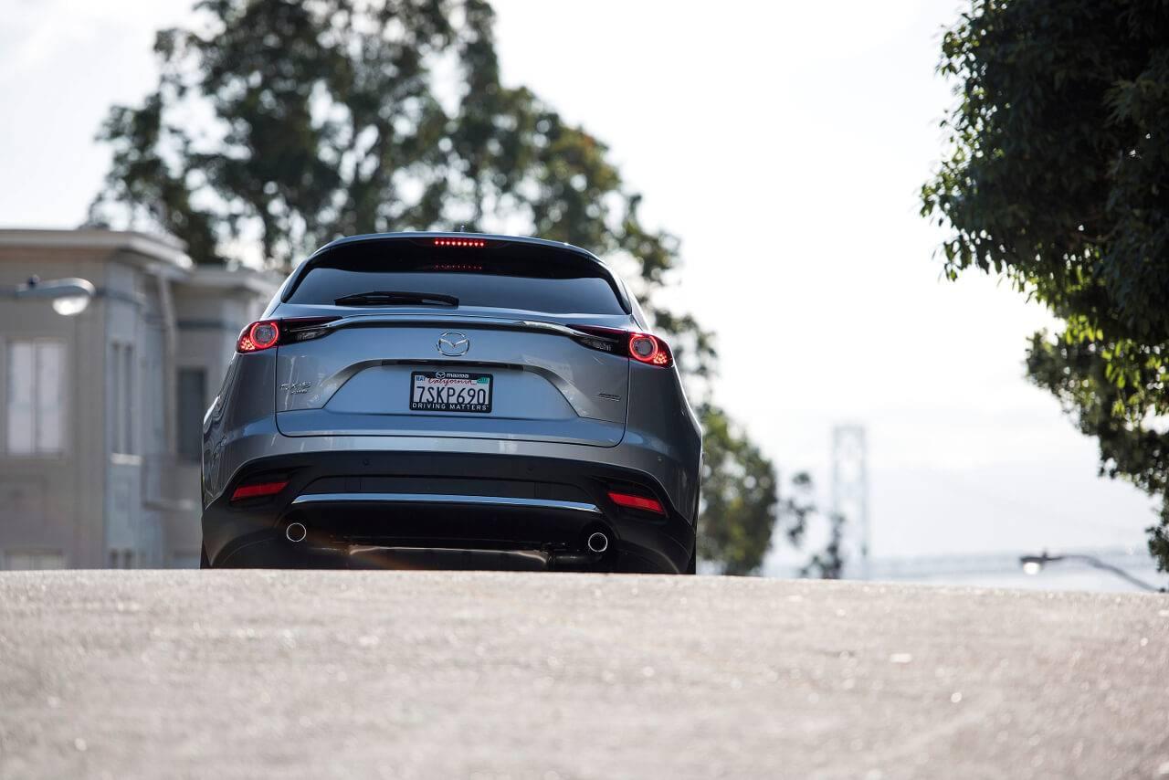 2017 Mazda CX-9 rear exterior
