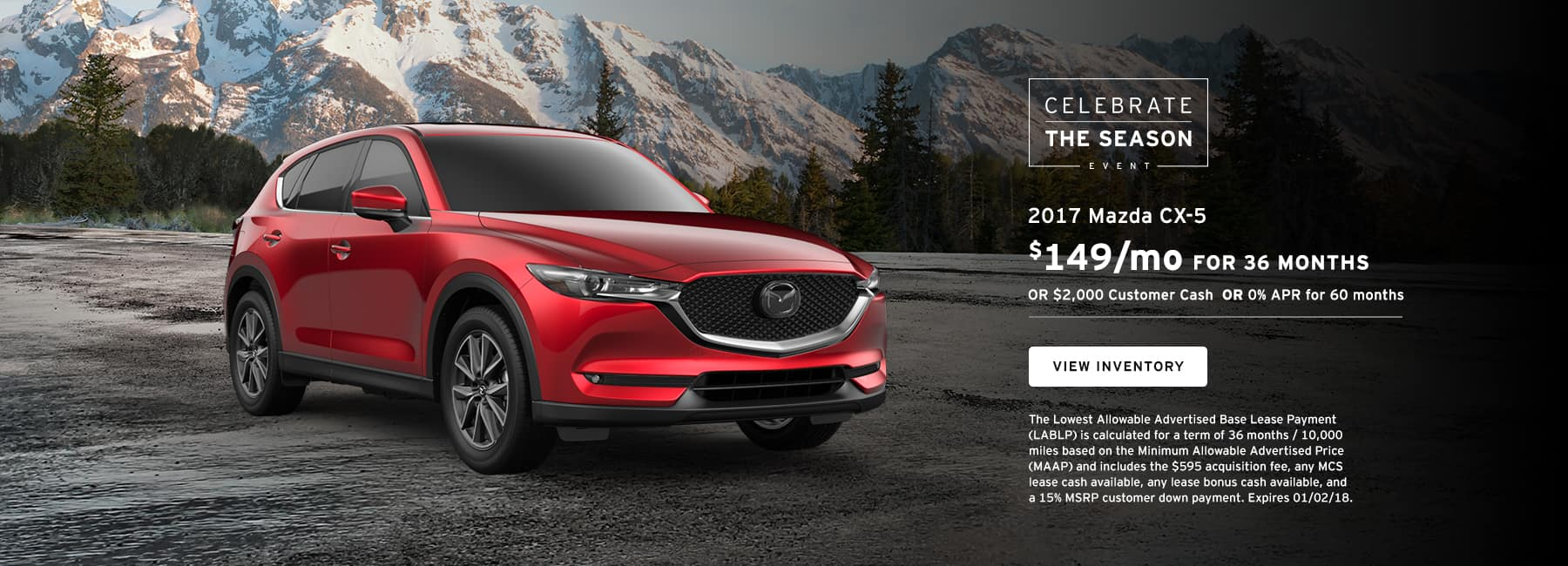 CX5 December Offer Biggers Mazda