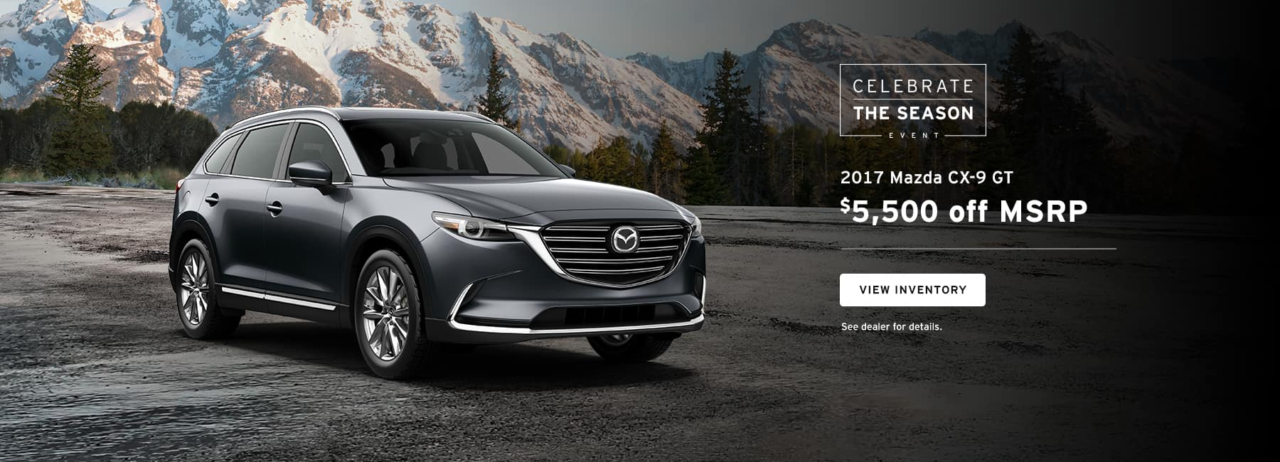 CX9 GT December Offer Biggers Mazda